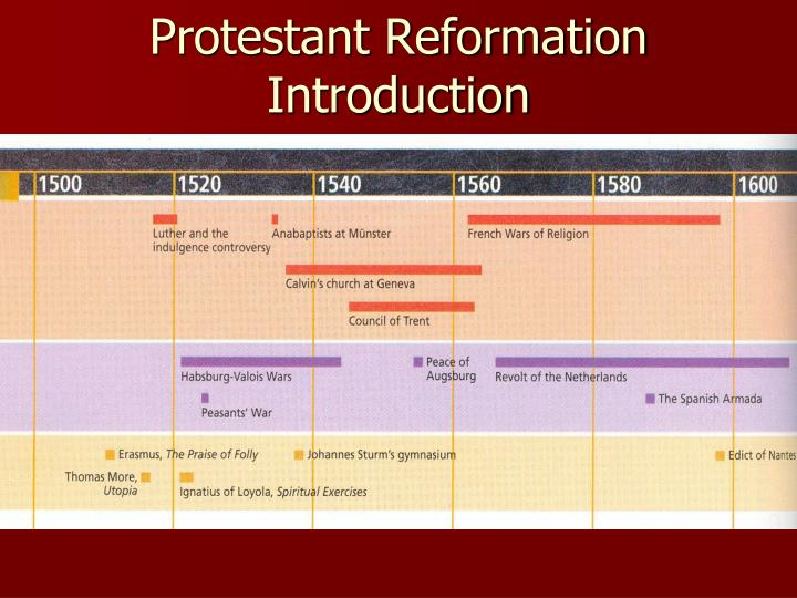 protestant reformation introduction n.