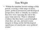 tom wright