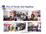 pics of family get together