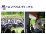 pics of puryadaang camp