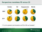 perspectives mondiales pd versus cd