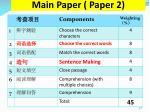 main paper paper 2