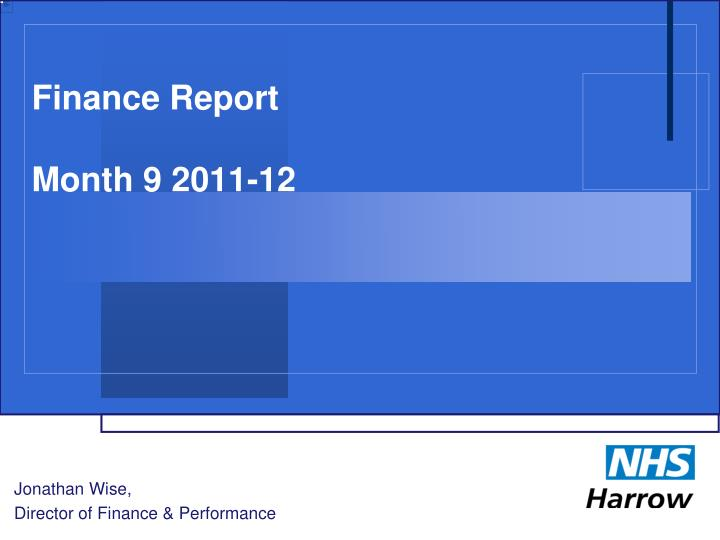 finance report month 9 2011 12 n.