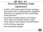anti counterfeiting trade agreement