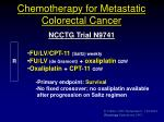chemotherapy for metastatic colorectal cancer3