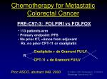 chemotherapy for metastatic colorectal cancer4
