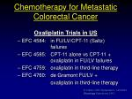 chemotherapy for metastatic colorectal cancer6