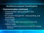 architecture based classification5