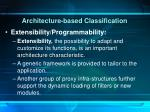 architecture based classification6