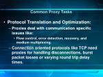 common proxy tasks