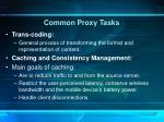 common proxy tasks2