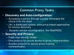 common proxy tasks4