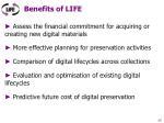 benefits of life