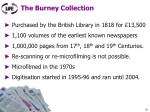 the burney collection