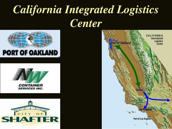 california integrated logistics center n.