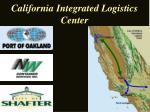 california integrated logistics center