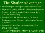 the shafter advantage