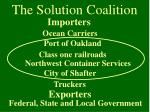 the solution coalition