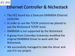 ethernet controller nichestack