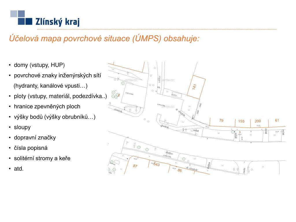 Ppt Projekt Jednotne Digitalni Technicke Mapy Zlinskeho Kraje