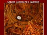 sancta sactorum o sagrario