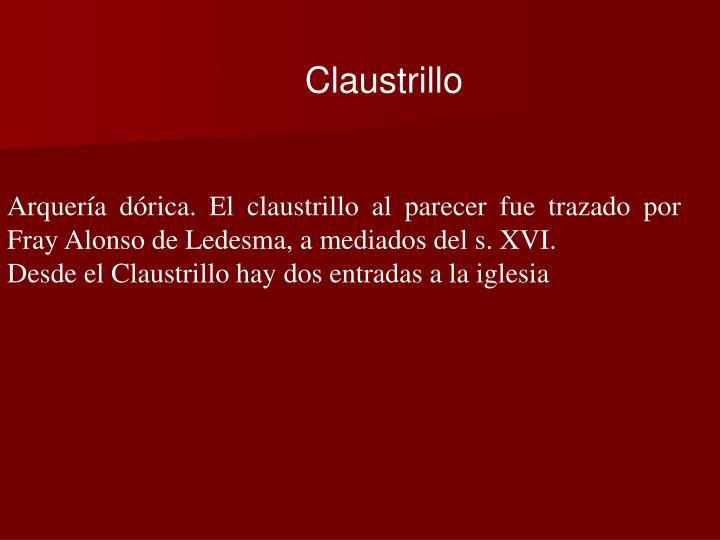 Claustrillo