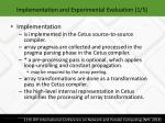 implementation and experimental evaluation 1 5