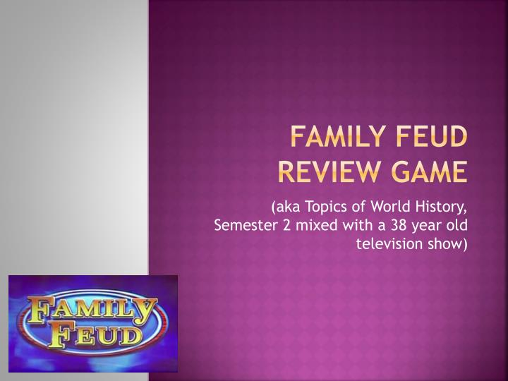 family feud review game n.