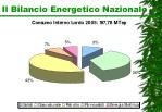 il bilancio energetico nazionale1