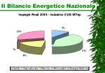 il bilancio energetico nazionale5