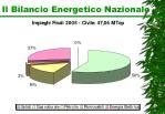 il bilancio energetico nazionale7