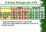 il conto energia per il fv2
