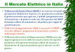 il mercato elettrico in italia1