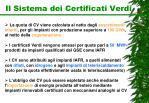 il sistema dei certificati verdi1