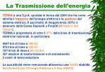 la trasmissione dell energia