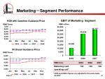 marketing segment performance