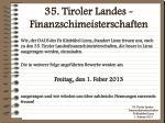 35 tiroler landes finanzschimeisterschaften