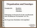 organisation und sonstiges2