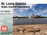 st louis district water control operations