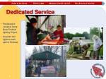 dedicated service2
