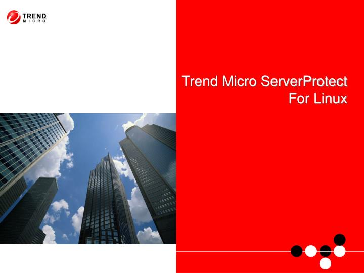 trend micro serverprotect for linux n.