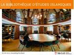 la biblioth que d tudes islamiques