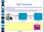 the converter
