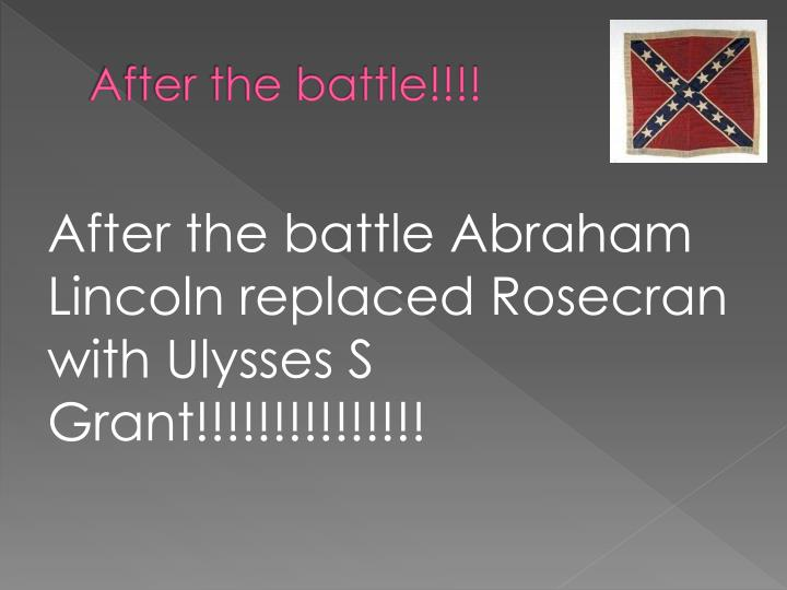 After the battle!!!!
