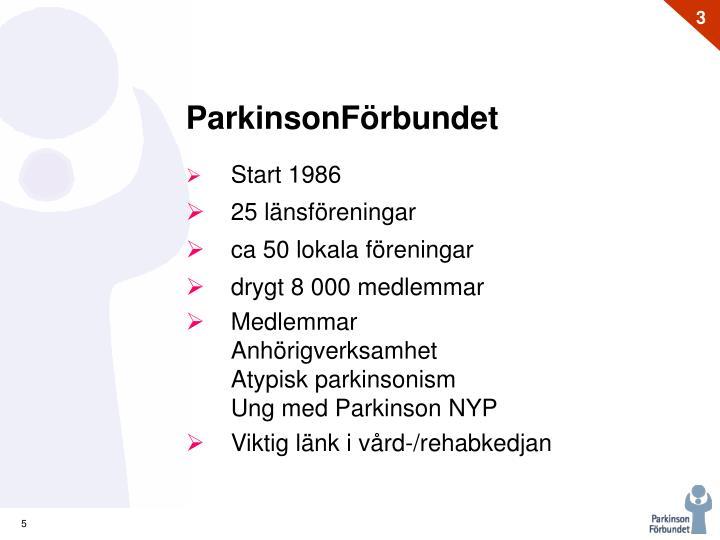 ParkinsonFörbundet