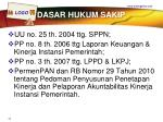 dasar hukum sakip1