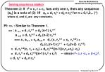 solving recurrence relation