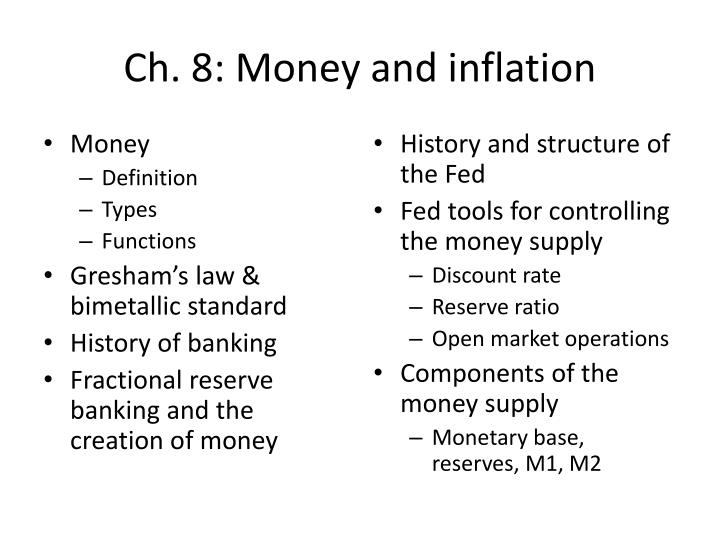 ch 8 money and inflation n.