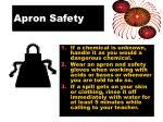 apron safety