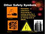 other safety symbols